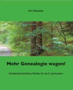 Mehr Genealogie wagen cover